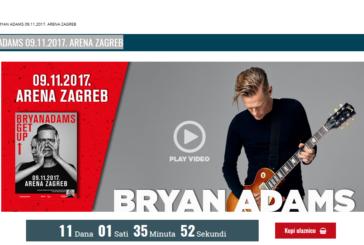 BRYAN ADAMS 09.11.2017. ARENA ZAGREB
