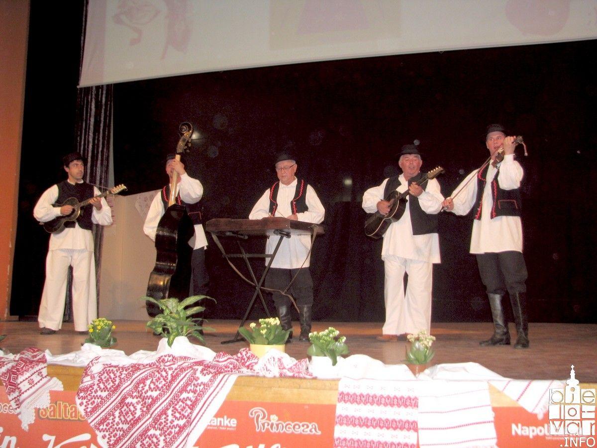 Festival tradicijske glazbe održan povodom Dana grada Bjelovara i Dana bjelovarskih branitelja