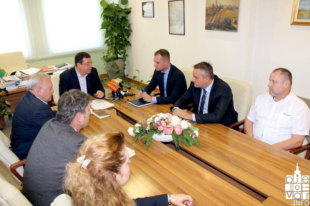 Zbrinjavanje otpada i prometna povezanost potaknule suradnju dvaju župana, bjelovarsko-bilogorskog i virovitičko-podravskog