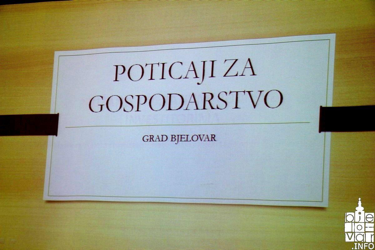 """Grad Bjelovar predstavio  """"tax free"""" model za domaće i strane investitore, kojima će omogućiti komunalni doprinos, komunalnu naknadu i zemljište za jednu kunu"""