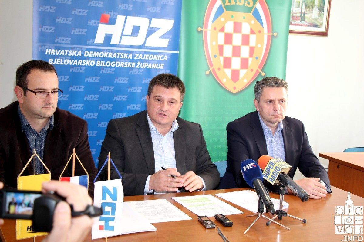 Bjelovarski HDZ, HSS i HSLS upozorava da bjelovarski ŽUC posluje loše i da ima brojne nepravilnosti