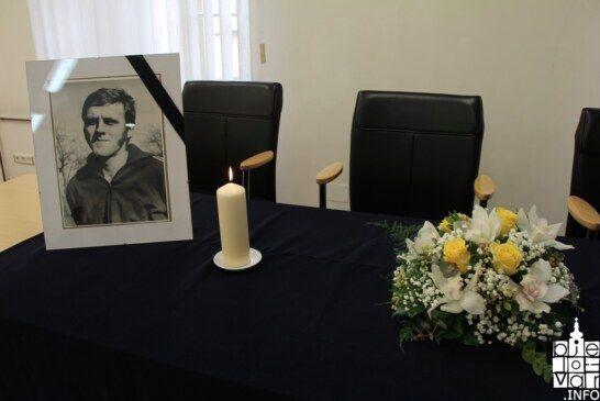 Komemorativni skup povodom smrti Borisa Bradića, poznatog bjelovarskog rukometaša