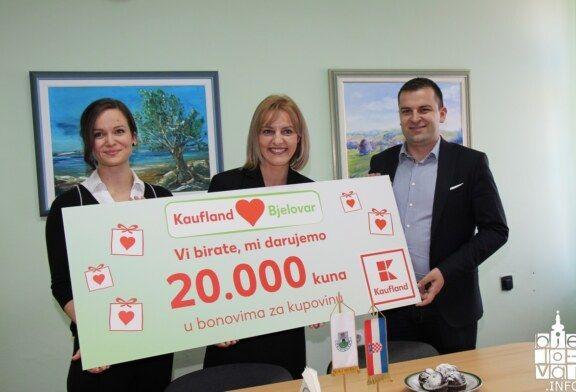 """Građani odabrali – """"Kauflandovu"""" donaciju od 20 tisuća kuna dobili učenici V. osnovne škole Bjelovar"""