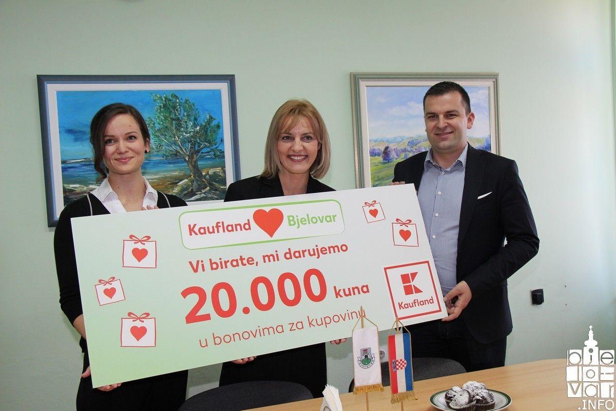 """Građani odabrali - """"Kauflandovu"""" donaciju od 20 tisuća kuna dobili učenici V. osnovne škole Bjelovar"""