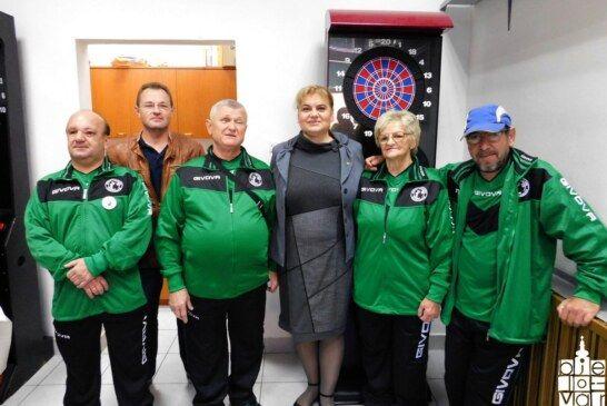 Uz program Dana Grada Bjelovara održan deveti tradicionalni turnir u pikadu za slijepe osobe