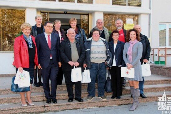 Održan svečani prijem za predstavnike Crvenog križa Bjelovarsko – bilogorske županije i dobrovoljne darivatelje krvi