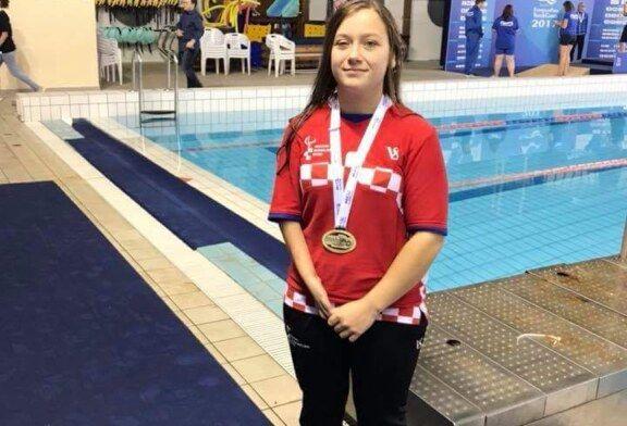 Martina Crkvenac osvojila dvije bronce na Europskim igrama mladih u plivanju za osobe s invaliditetom