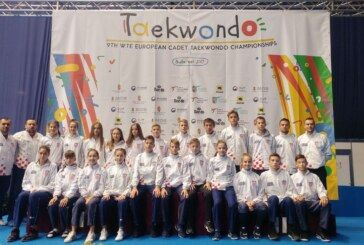 Održano Kadetsko Prvenstvo Europe u taekwondou