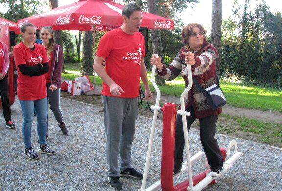"""U sklopu projekta """"Pokret za radost"""" Coca-Cola Hrvatska uredila aktivnu zonu na Boriku"""