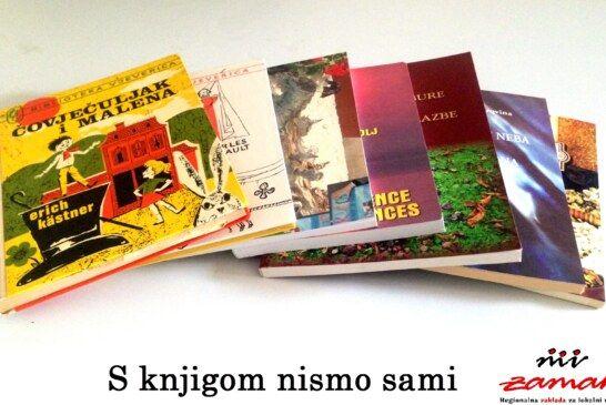 """Zaklada Zamah pokrenula akciju prikupljanja knjiga """"S knjigom nismo sami"""""""