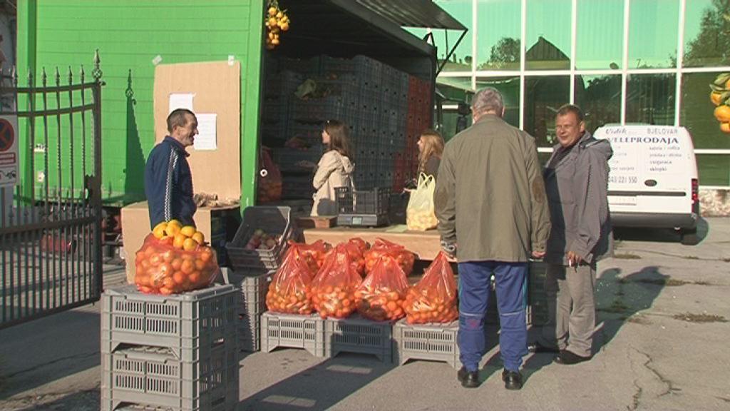 Neretvanske mandarine stigle u Bjelovar