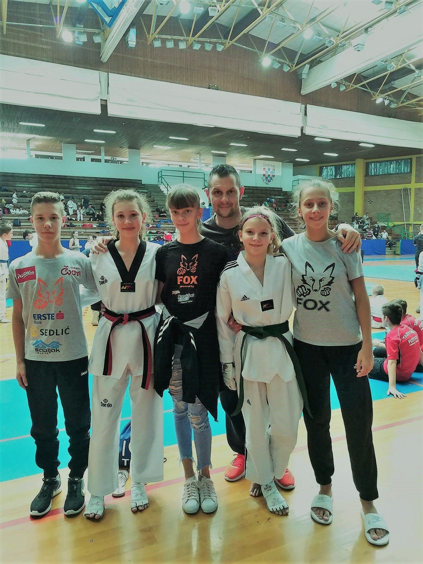 Bjelovarski foksići nastupili na Casper Openu