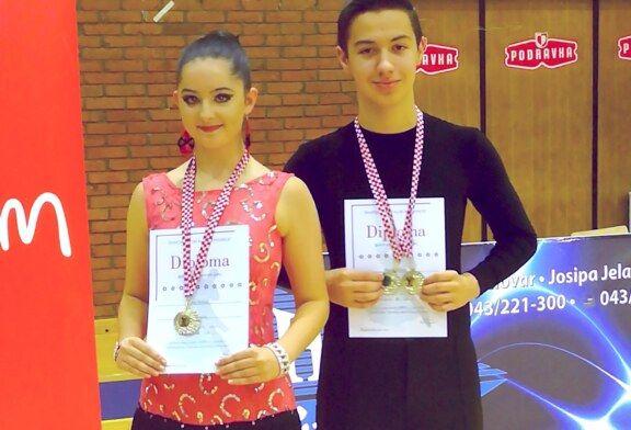 Plesači bjelovarskog kluba H-8 nastupili u Koprivnici