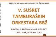 V. Susret tamburaških orkestara Bjelovarsko-bilogorske županije