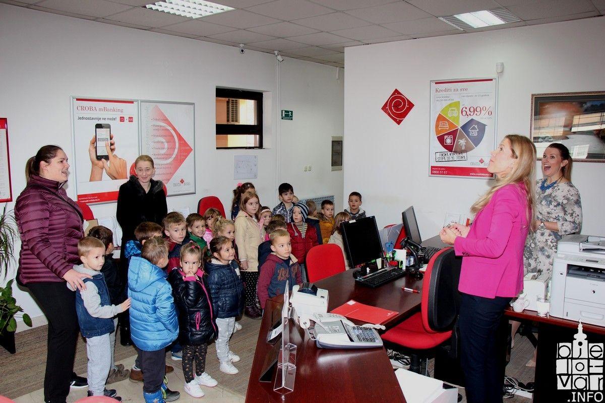 Na Svjetski dan štednje, školarci i vrtićarci posjetili Croatia banku