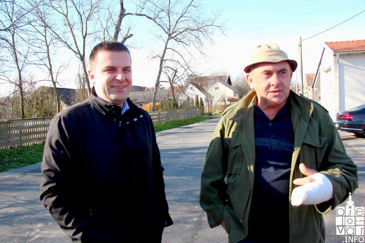 Grad Bjelovar nastavlja s obnovom cesta u gradu i prigradskim naseljima-obnovljena cesta u mjestu Galovac