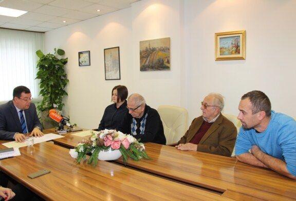 Predstavnici Ogranka Matice Hrvatske na prijemu u Bjelovarsko-bilogorskoj županiji