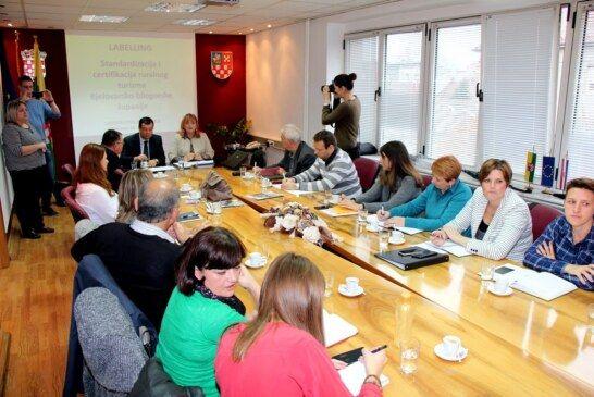 """U Županiji predstavljen projekt """"Labelling – standardizacija i certifikacija ruralnog turizma"""" vrijedan 80 tisuća kuna"""