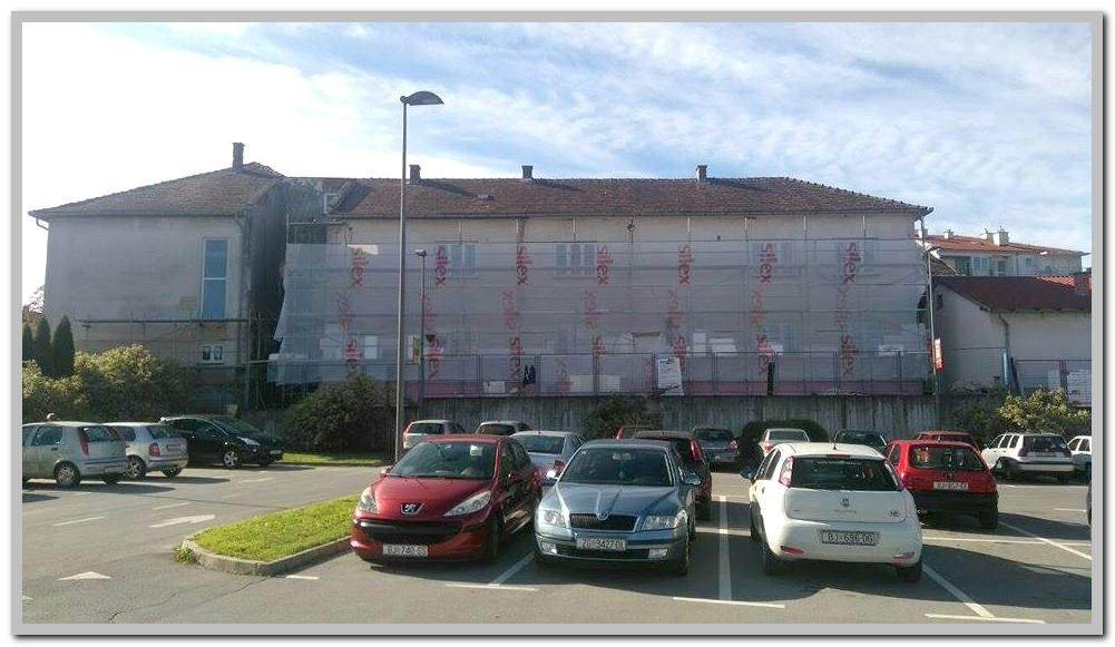 Grad Čazma obnavlja zgradu ureda državne uprave