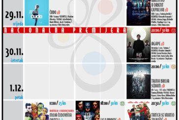 Bjelovarsko kino – TJEDNI RASPORED_KMCBj (28.11.-3.12.2017.)