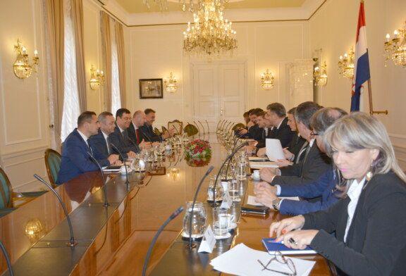 Održan radni sastanak pet župana s predsjednikom Vlade Andrejom Plenkovićem i ministrima u Vladi RH