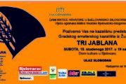 """Dom kulture Bjelovar – kazališna predstava """"Tri jablana"""" 18. studenoga 2017."""