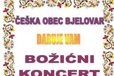 Božićni koncert u organizaciji Češke obec Bjelovar