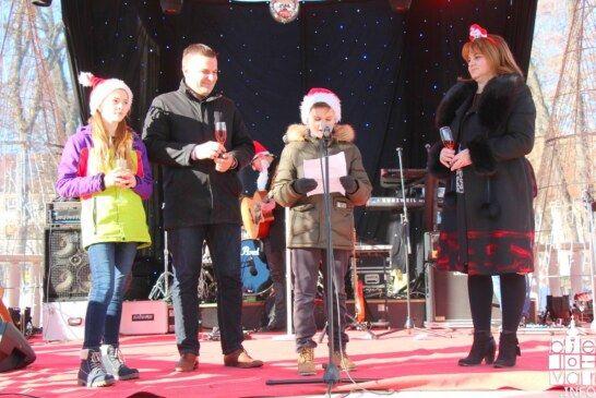 Točno u podne dočekana Dječja Nova godina u Bjelovaru