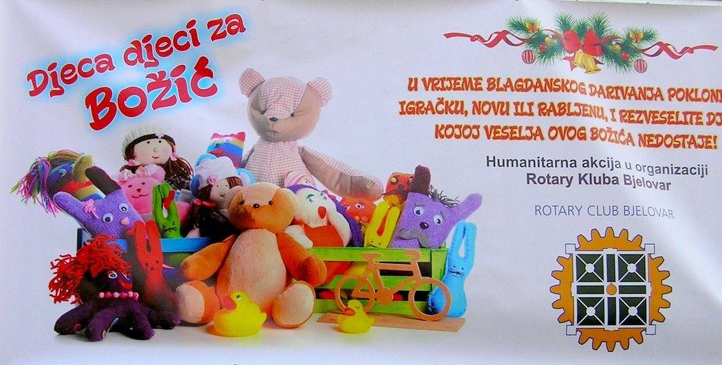 """Održana humanitarna akcija """"Djeca djeci za Božić"""""""