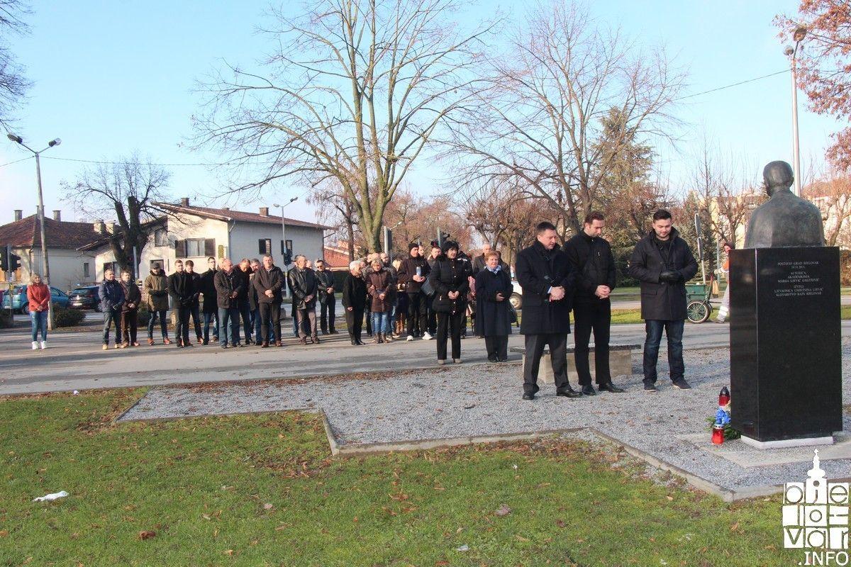 Bjelovarski HDZ odao počast prvom hrvatskom predsjedniku Franji Tuđmanu povodom 18. obljetnice njegove smrti