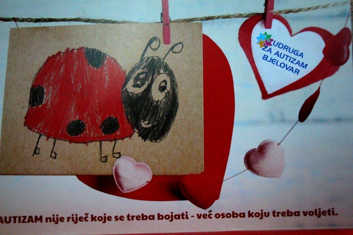 Udruga za autizam Bjelovar predstavila kalendar djece korisnika udruge
