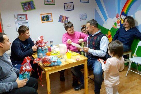Sveti Nikola u bjelovarskoj Udruzi za autizam