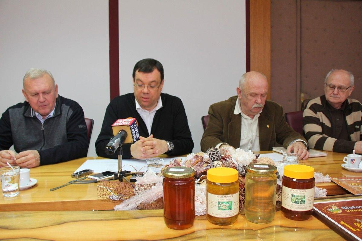 U Bjelovarsko-bilogorskoj županiji održan prijem za Pčelarski savez BBŽ i najavljen 14. Međunarodni pčelarski sajam