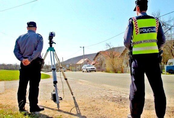 Pojačani nadzor PU bjelovarsko-bilogorske pokazuje da i dalje prednjače najteži i najčešći prometni prekršaji
