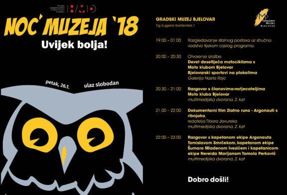 Noć muzeja 2018. u Gradskom muzeju Bjelovar