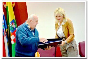 Društvo esperantista Bjelovar na prijemu u Bjelovarsko-bilogorskoj županiji