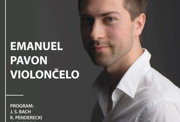 Emanuel PAVON, violončelo – KONCERT