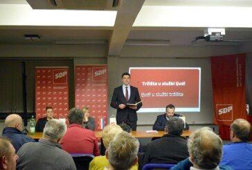 Priopćenje SDP-a: Bernardić u Bjelovaru žestoko napao Vladu i HDZ zbog Agrokora