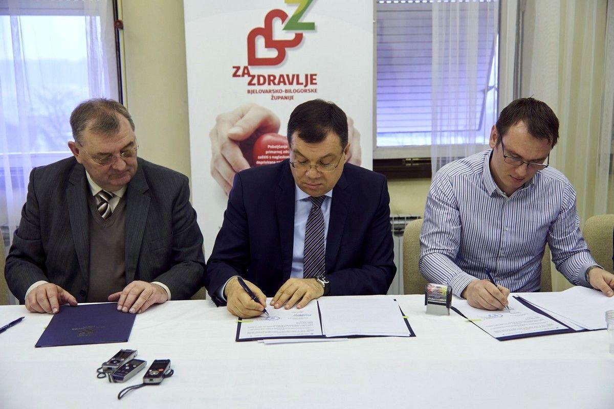 Župan Damir Bajs potpisao Ugovor o izvođenju radova na zgradi Doma zdravlja u Čazmi
