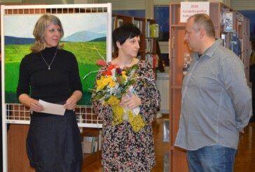 Izložba Ivane Barišić Tomšić u Komercijalnoj i trgovačkoj školi Bjelovar