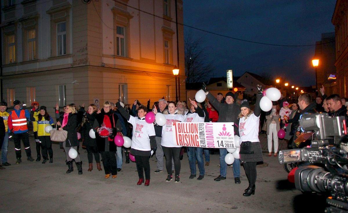 """U Bjelovaru svjetska kampanja protiv nasilja nad ženama """"Milijarda ustaje"""