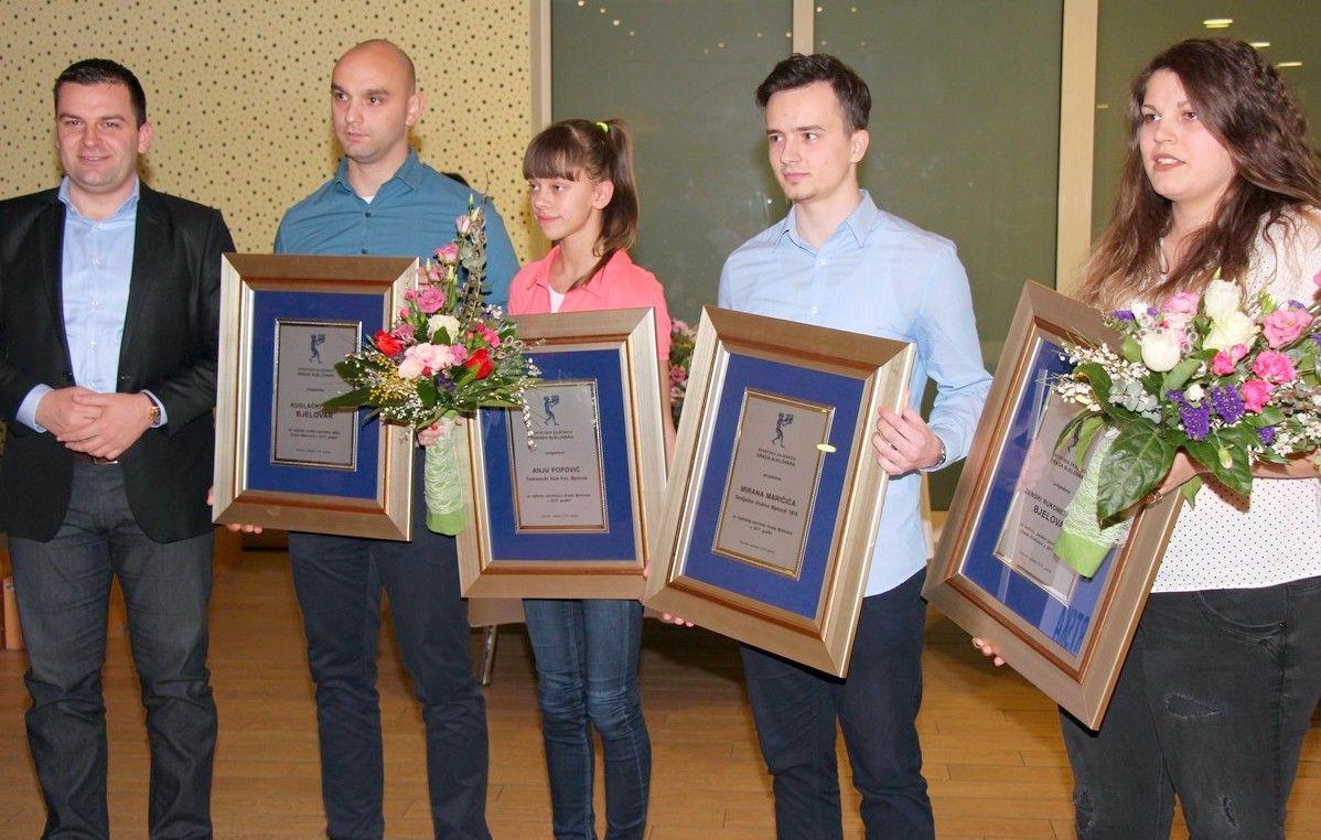 GRAD BJELOVAR-Proglašeni najbolji sportaši, sportašice, sportske ekipe i djelatnici u 2017.