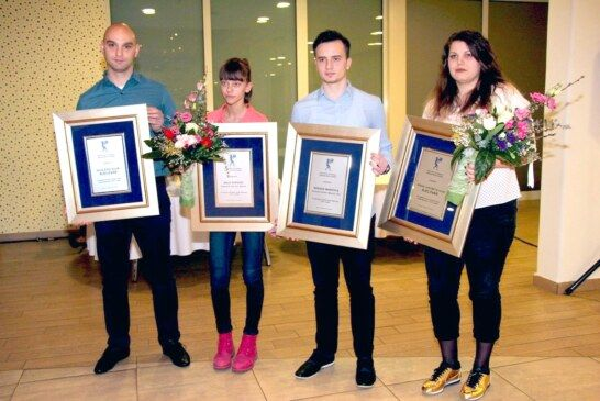 Nagrađeni sportaši Grada Bjelovara: Nagrada je poticaj za još uspješnije rezultate