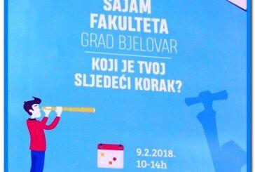 Uz veliku potporu Bjelovarsko-bilogorske županije održat će se 1. SAJAM FAKULTETA u organizaciji Udruge studenata BBŽ