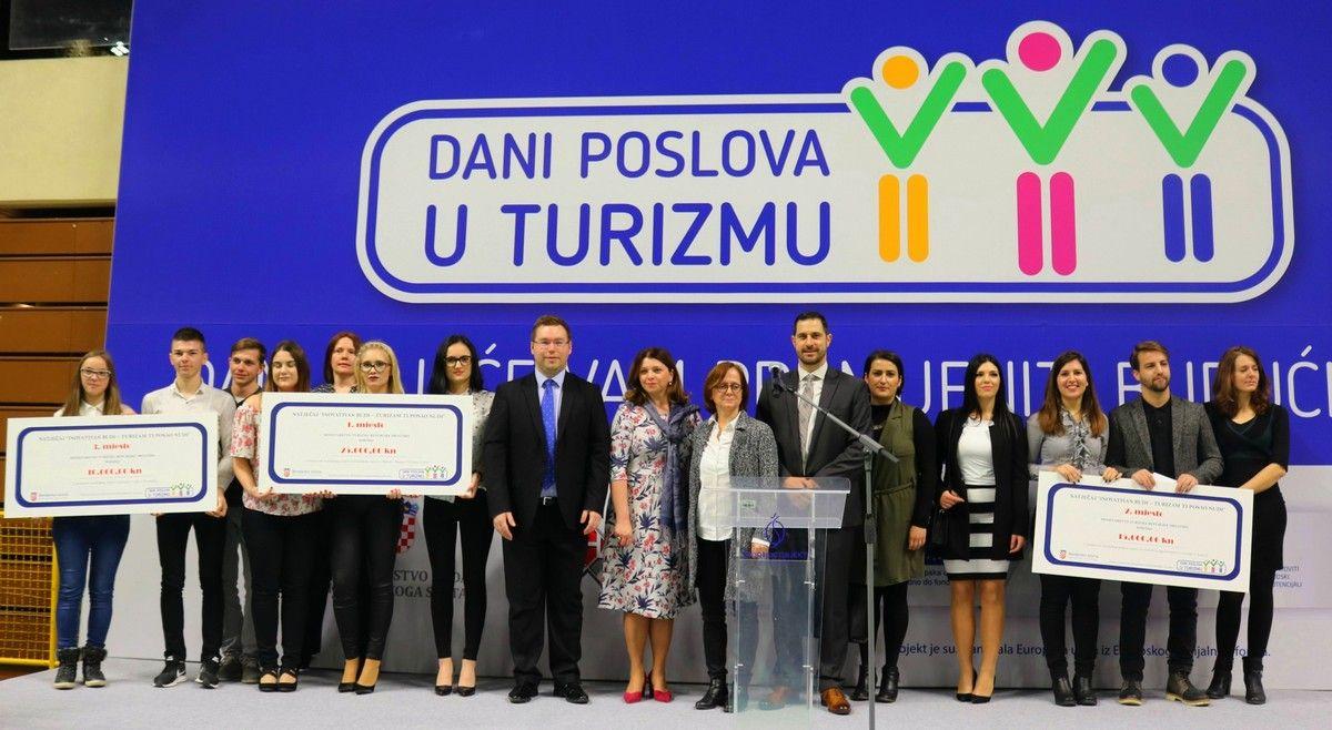 Na završnici Dana poslova u turizmu u Splitu proglašeni pobjednici natječaja među kojima je i turistička škola iz Daruvara
