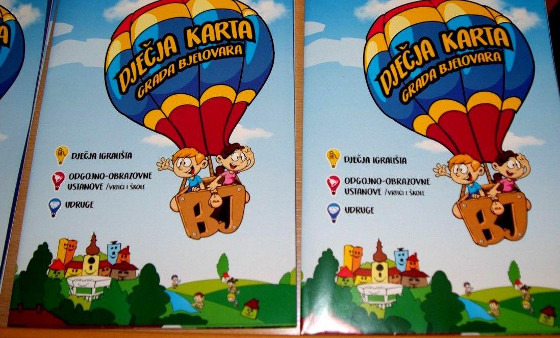 Dječje gradsko vijeće Grada Bjelovara predstavilo DJEČJU KARTU GRADA BJELOVARA i najavilo Zelenu Čistku