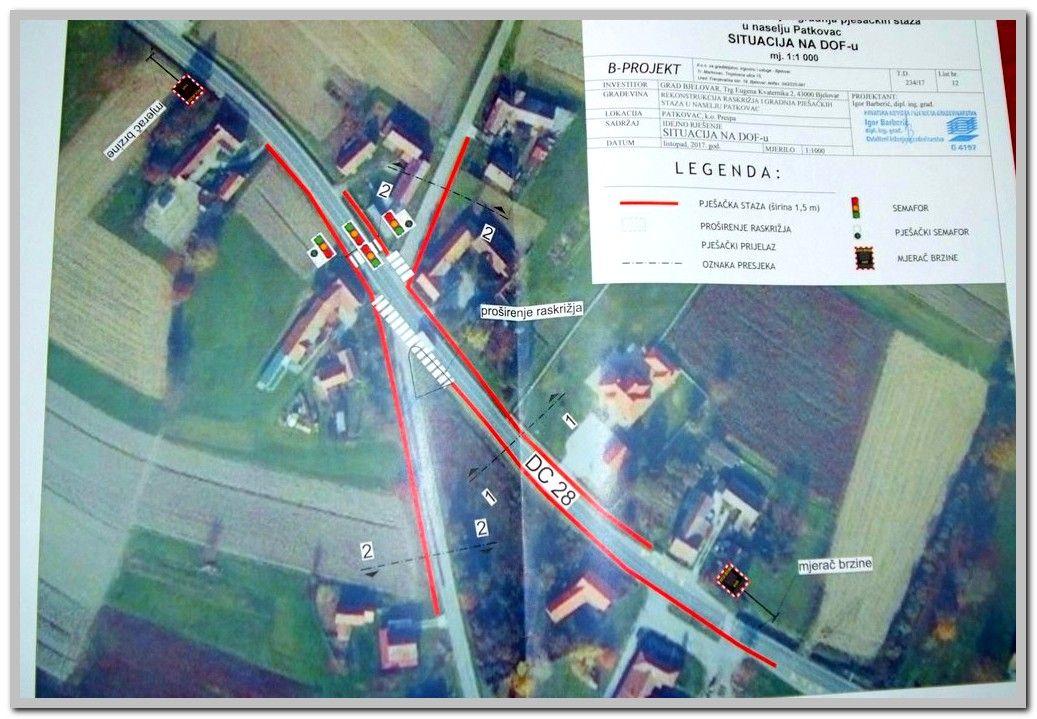 GRAD BJELOVAR - USKORO KREĆE REKONSTRUKCIJA opasnog raskrižja u naselju Patkovac