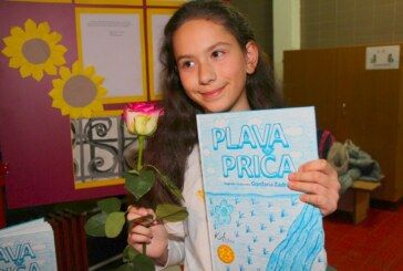 Gordana Zadravec učenica IV. osnovne škole Bjelovar predstavila svoju prvu slikovnicu