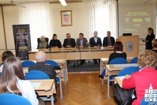 """BJELOVAR STAO uz bok Zagrebu i Rijeci, po prvi puta se održava """"Startup Europe Week"""" u cilju promocije i razvoja poduzetništva"""