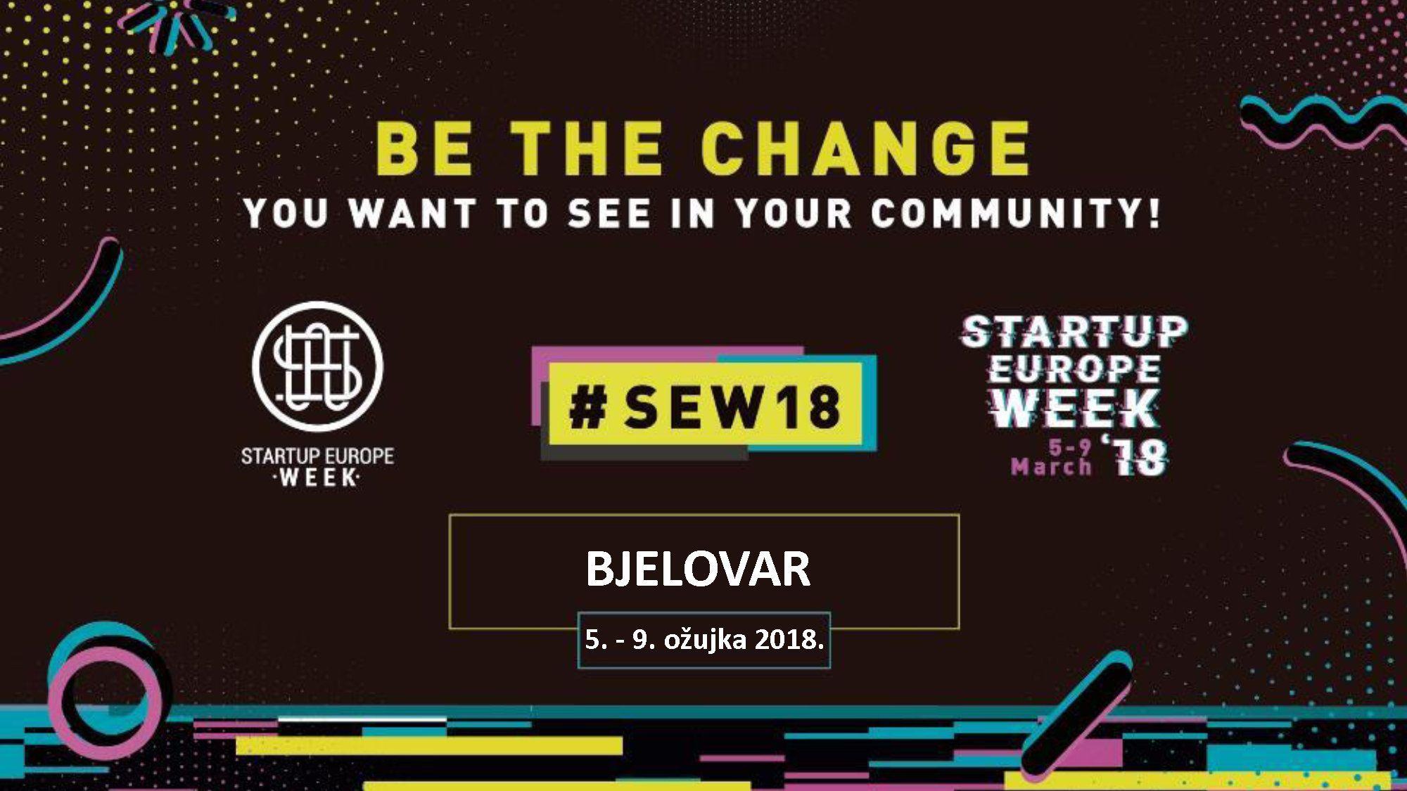 GRAD BJELOVAR - otvorenje Startup Europe weeka 2018.